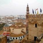 041 Terraza Torre Homenaje e iglesia S Pedro - Andalucía Film Commission