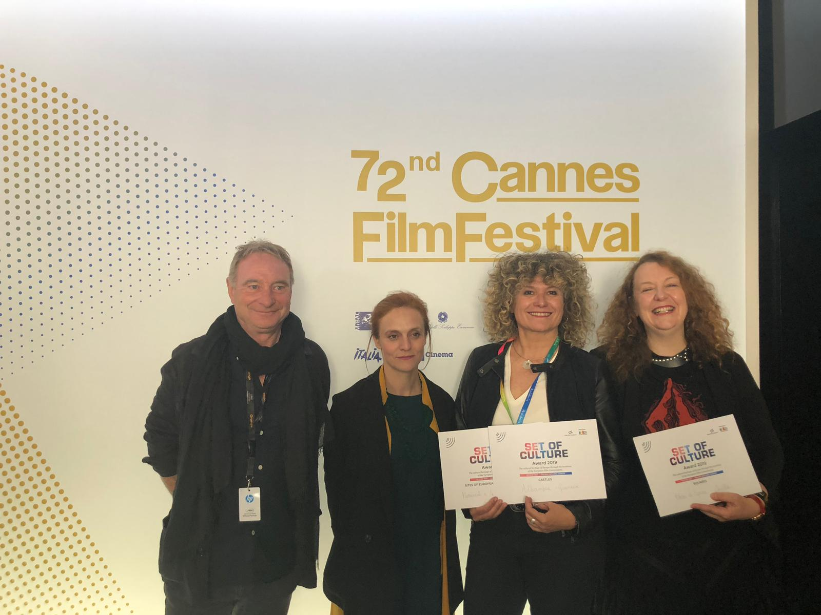 Fotografía Premios Set of Culture Awards - Andalucía Film Commission