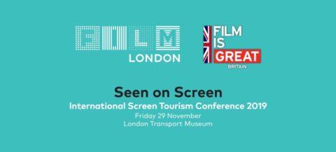 Andalucía Film Commission participa en Seen on Screen en Londres, uno de los más importantes encuentros internacionales sobre turismo cinematográfico