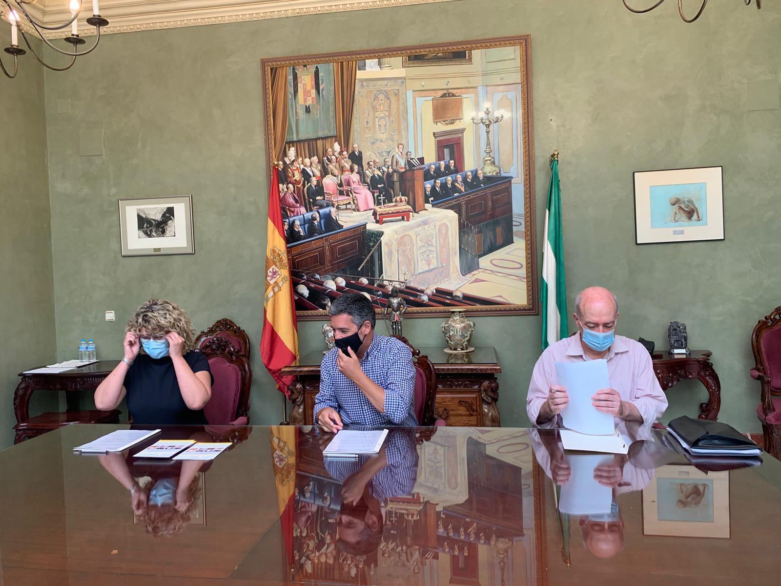 Firma convenio RCC - Andalucía Film Commission