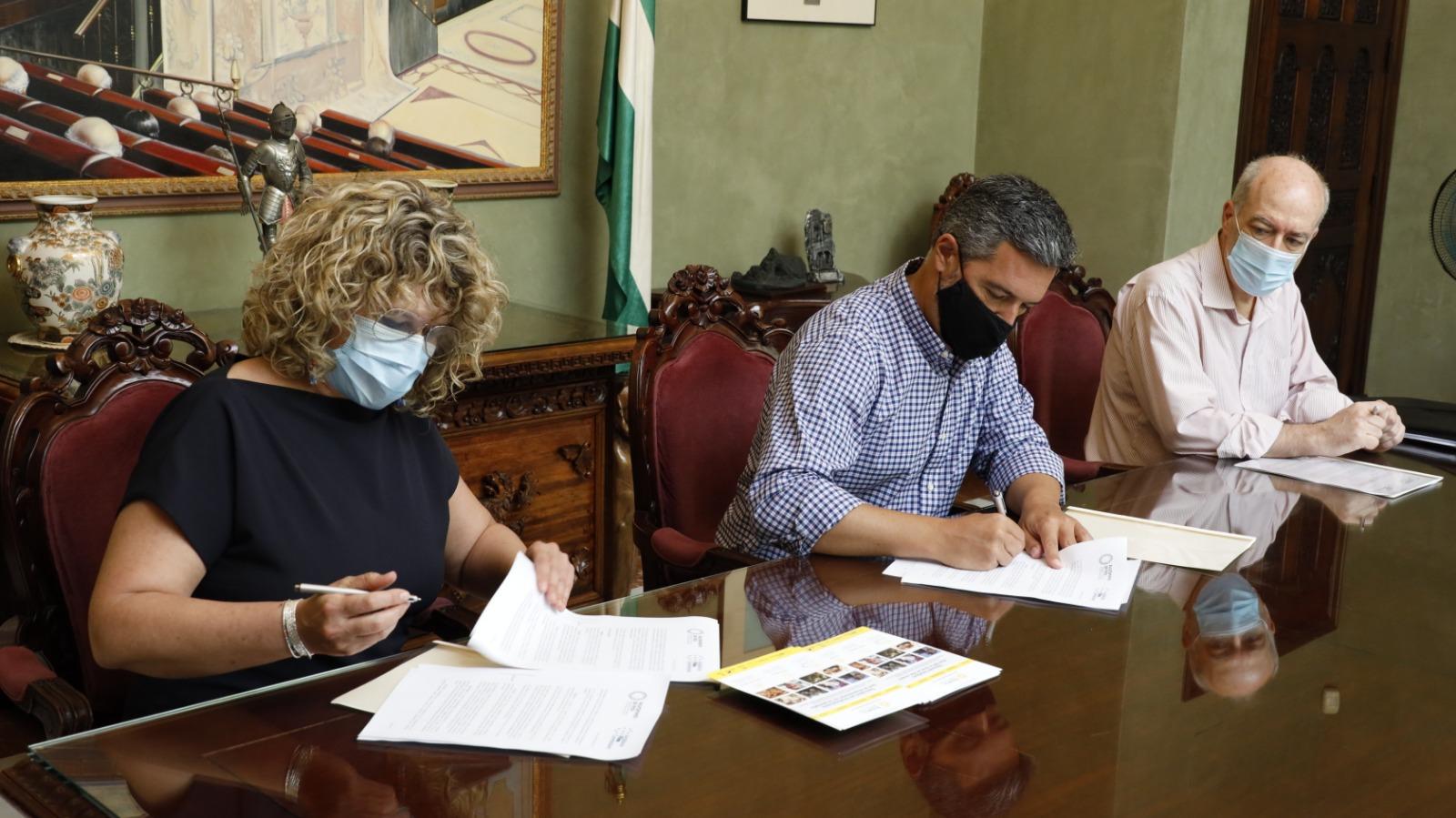 Firma convenio RCC2 - Andalucía Film Commission