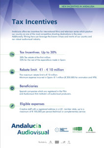 Incentives Andalucia - Andalucía Film Commission