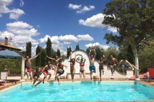 Hacienda San Bernardo swimmingpool - Andalucía Film Commission