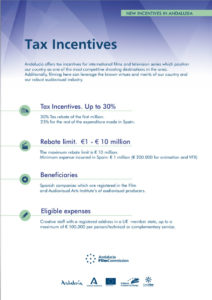 Tax Incentives - Andalucía Film Commission