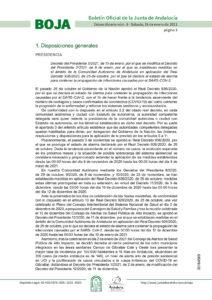 decreto 16 01 21 - Andalucía Film Commission