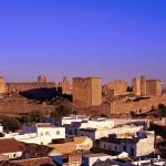 00aAlcazar de Arriba Vista de los restos de la fortaleza desde la torre de la iglesia de Santiago - Andalucía Film Commission